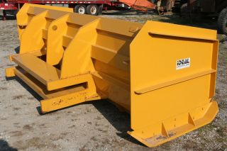 12 ' Extreme Duty Snow Pusher Box Universal Bucket Mount,  Blade Ideal Mfg. photo