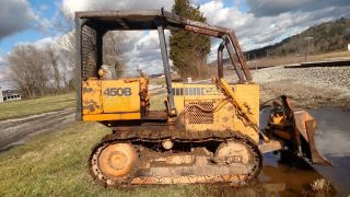 Case 450b Dozer photo