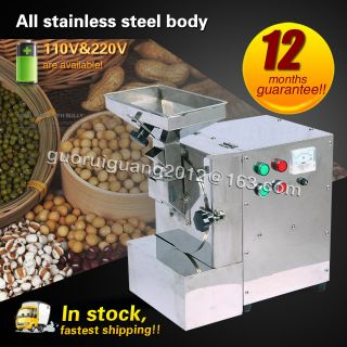 Walnuts/peanuts/sesame Seeds/beans Almond Milling Machine Oily Feed Grinder photo