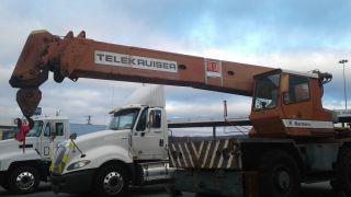 1981 Bantam Cable Crane,  6 Cyl Truck Eng,  4 Cyl Crane Eng. photo