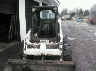 2000 Bobcat 763 Skid Steer photo