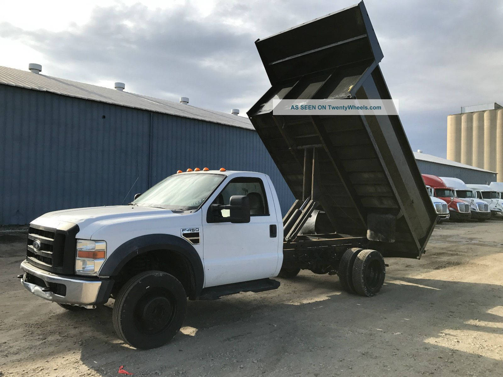 2008 Ford F450 Dump Trucks photo