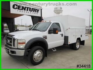 2009 Ford F550 Regular Cab Utility Truck photo