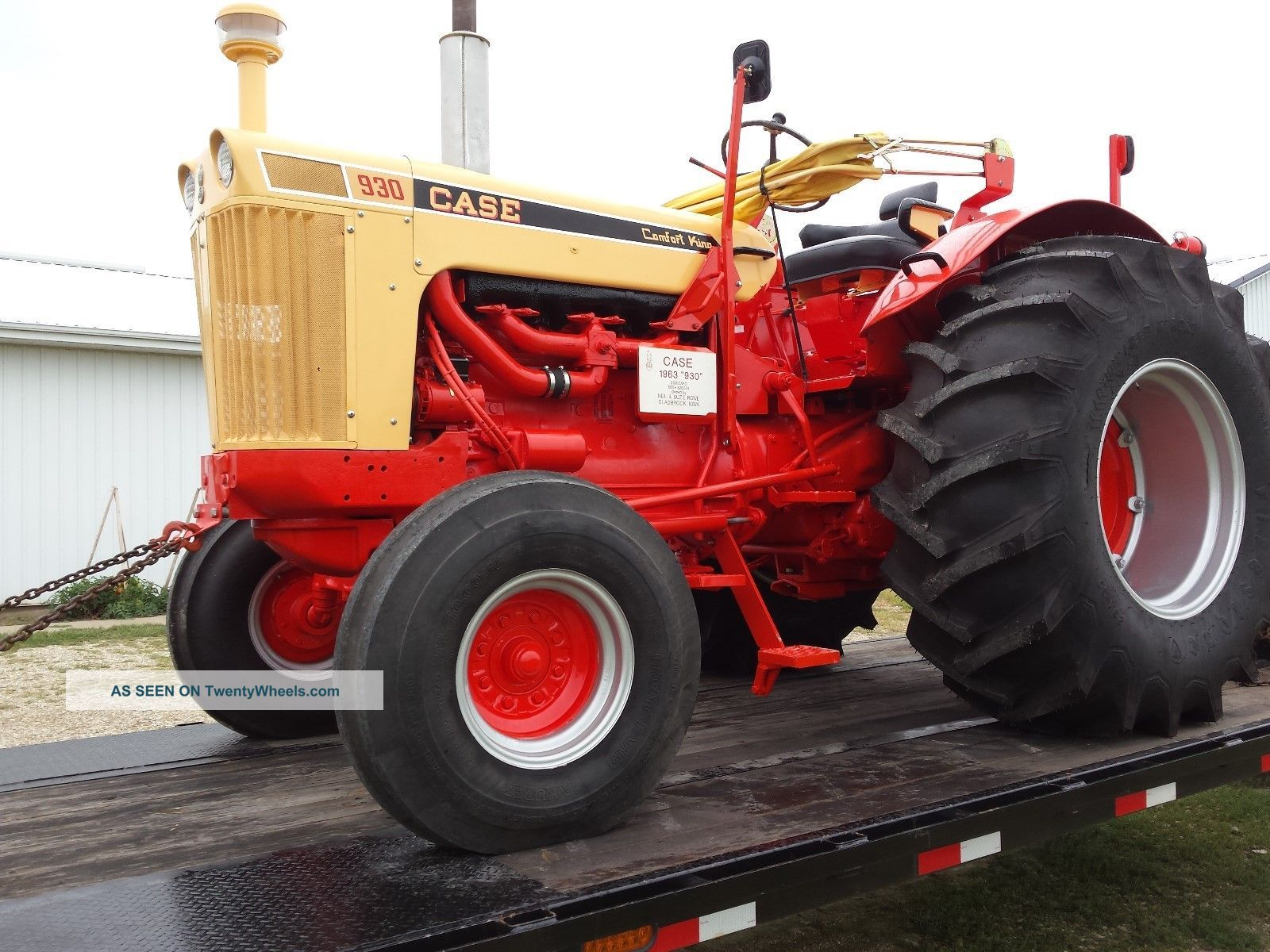 Case Comfort King : Case standard comfort king tractor