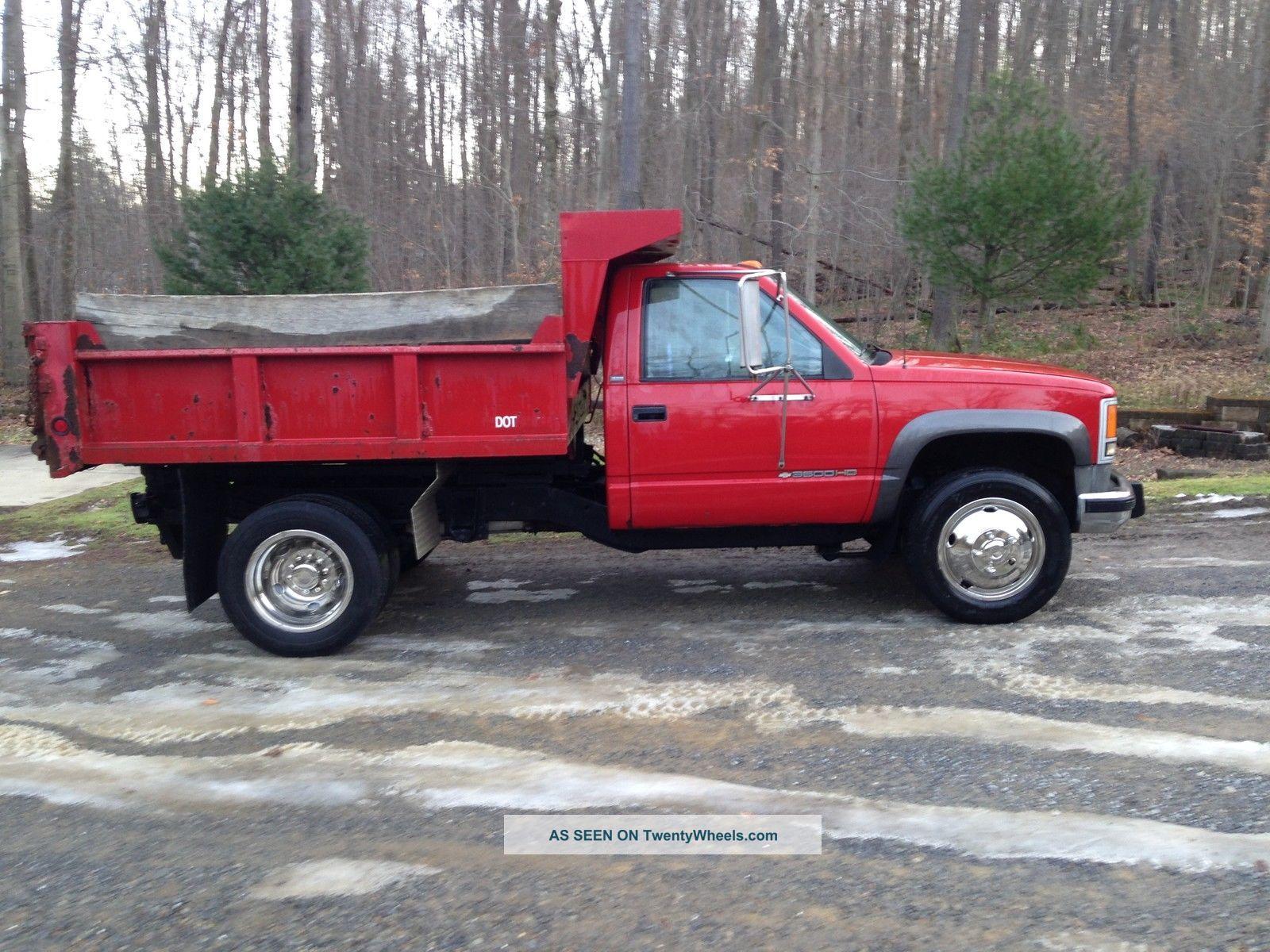1992 Chevrolet 3500 Hd Dump Trucks photo