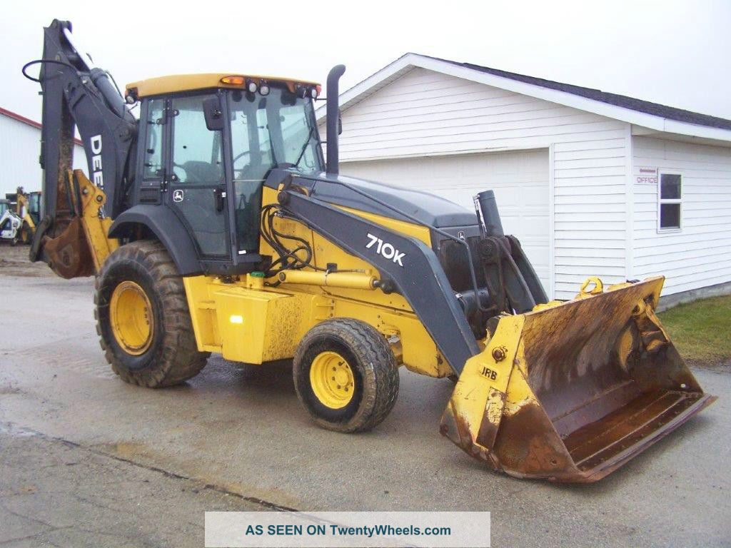 2013 John Deere 710k Backhoe With Air,  Powershift,  130hp Backhoe Loaders photo