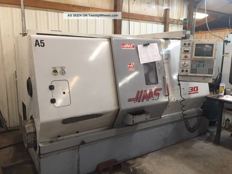 Haas Sl - 30t Cnc Turning Center Lathe Tailstock 2.  5