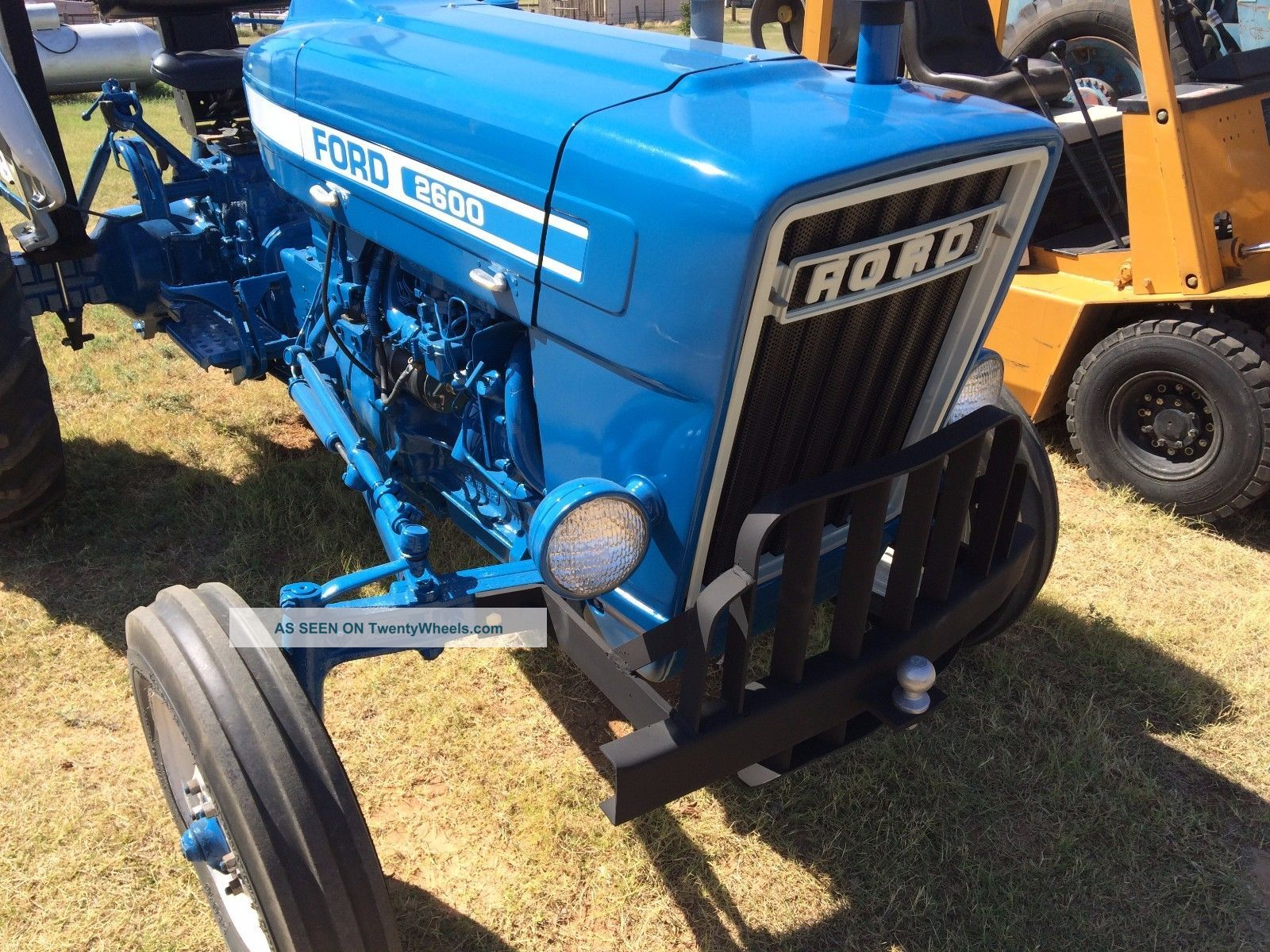 2600 Ford Tractor Specifications : One owner ford tractor