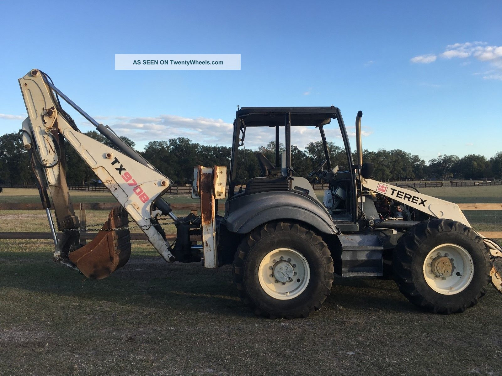 2007 Terex 970b Bachoe 4x4 Backhoe Loaders photo