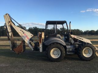 2007 Terex 970b Bachoe 4x4 photo
