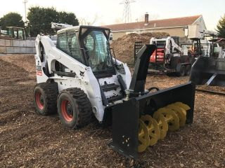 2008 Bobcat A300 Skid Steer With 68