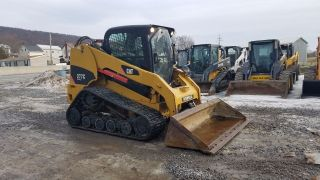2010 Caterpillar 277c Compact Track Skid Steer Loader 2 Speed Hydraulic Coupler photo
