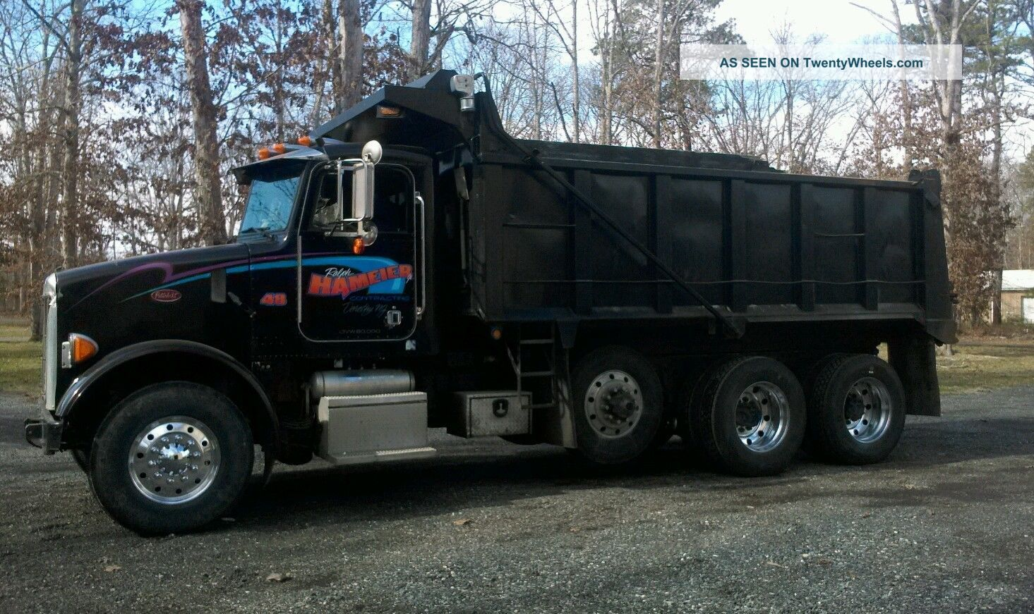 2002 Peterbilt 357 Dump Trucks photo