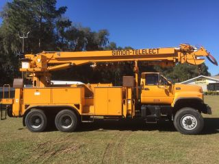 Digger Derrick Truck No Rust Florida Truck photo