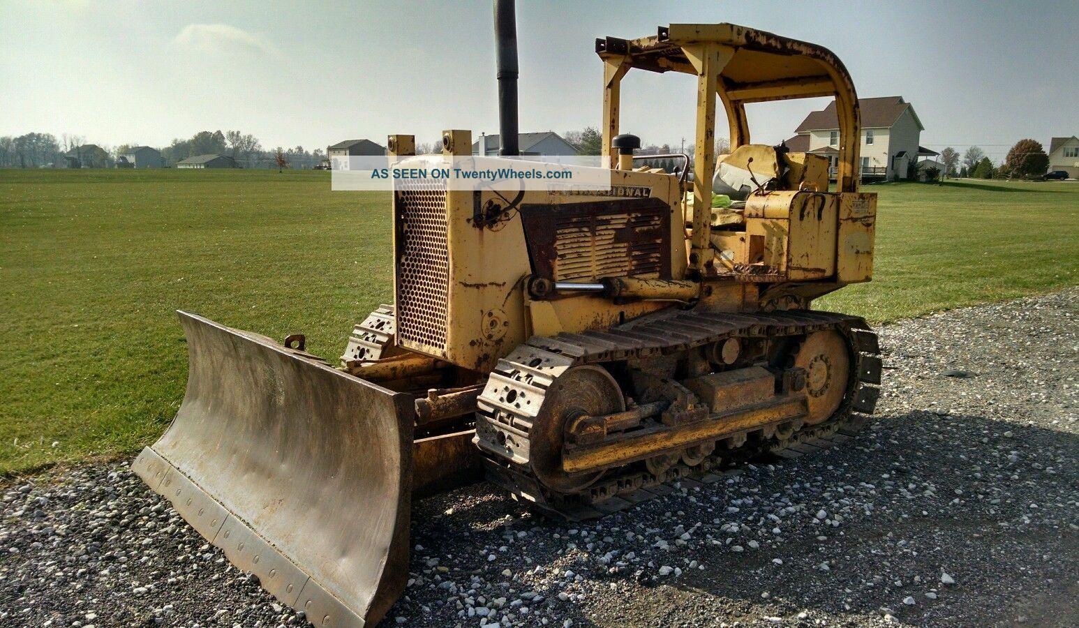 International Td8 Td - 8 Bulldozer Dozer Crawler Crawler Dozers & Loaders photo
