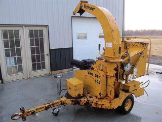 Vermeer Bc625 Kohler Powered Trailer Chipper.  Auto Feed.  25hp. photo