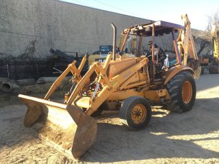 Excellent Case 580k 2wd Backhoe Loader; 4531 Hrs photo