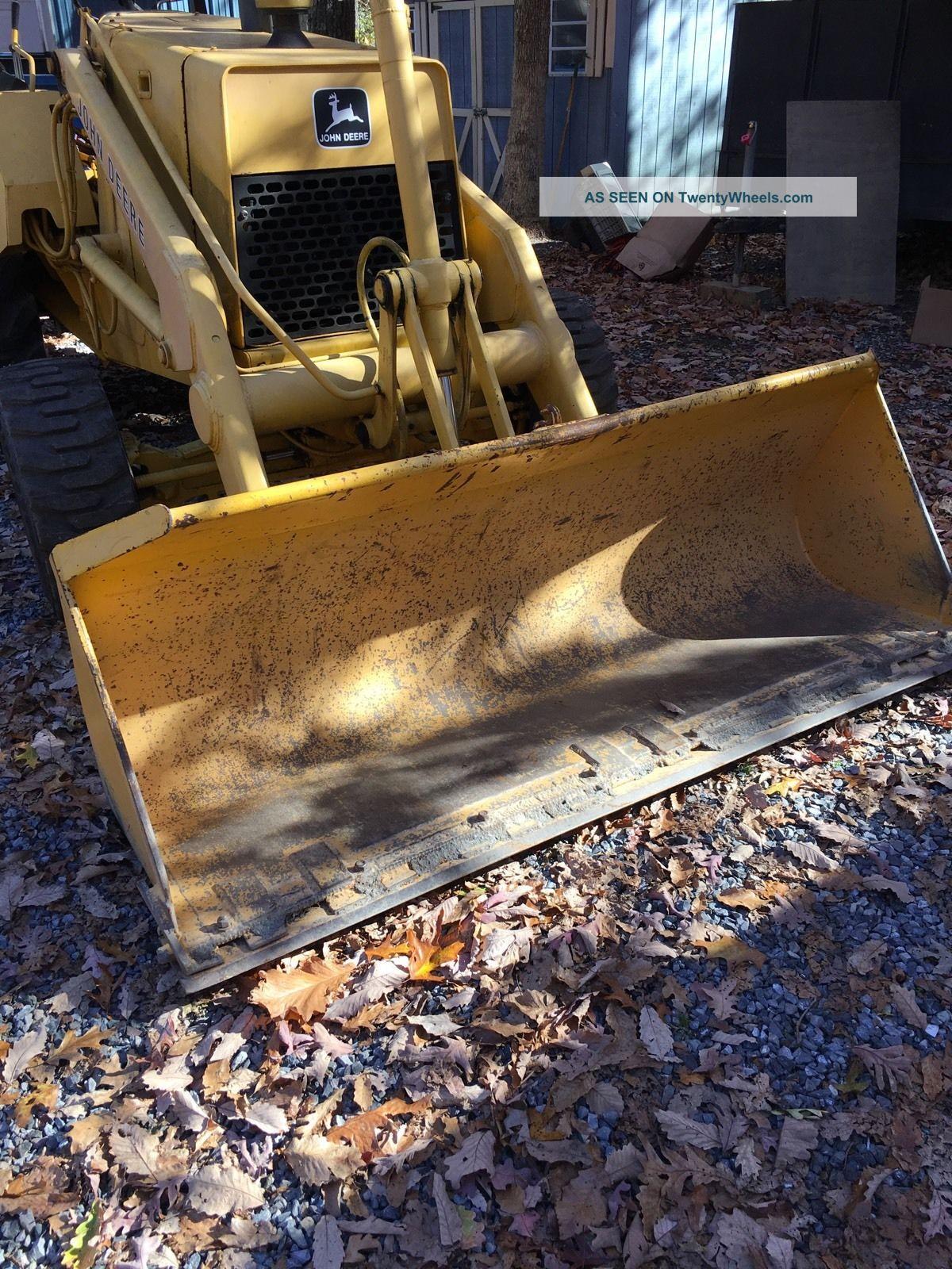 John Deere C X Tractor Loader Great Shape Front End Loader Plow Bulldozer Lgw on Kubota Front End Loader