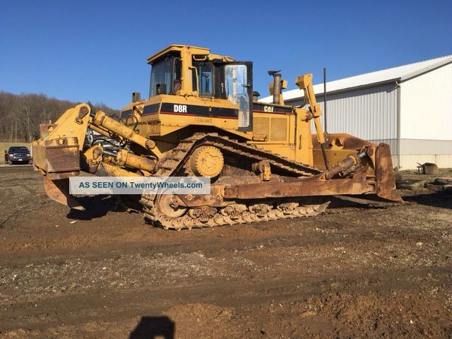 D8r Caterpillar 1997 Crawler Dozers & Loaders photo
