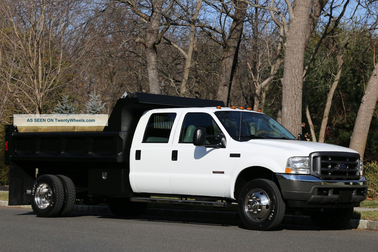 2004 Ford F450 Dump Trucks photo