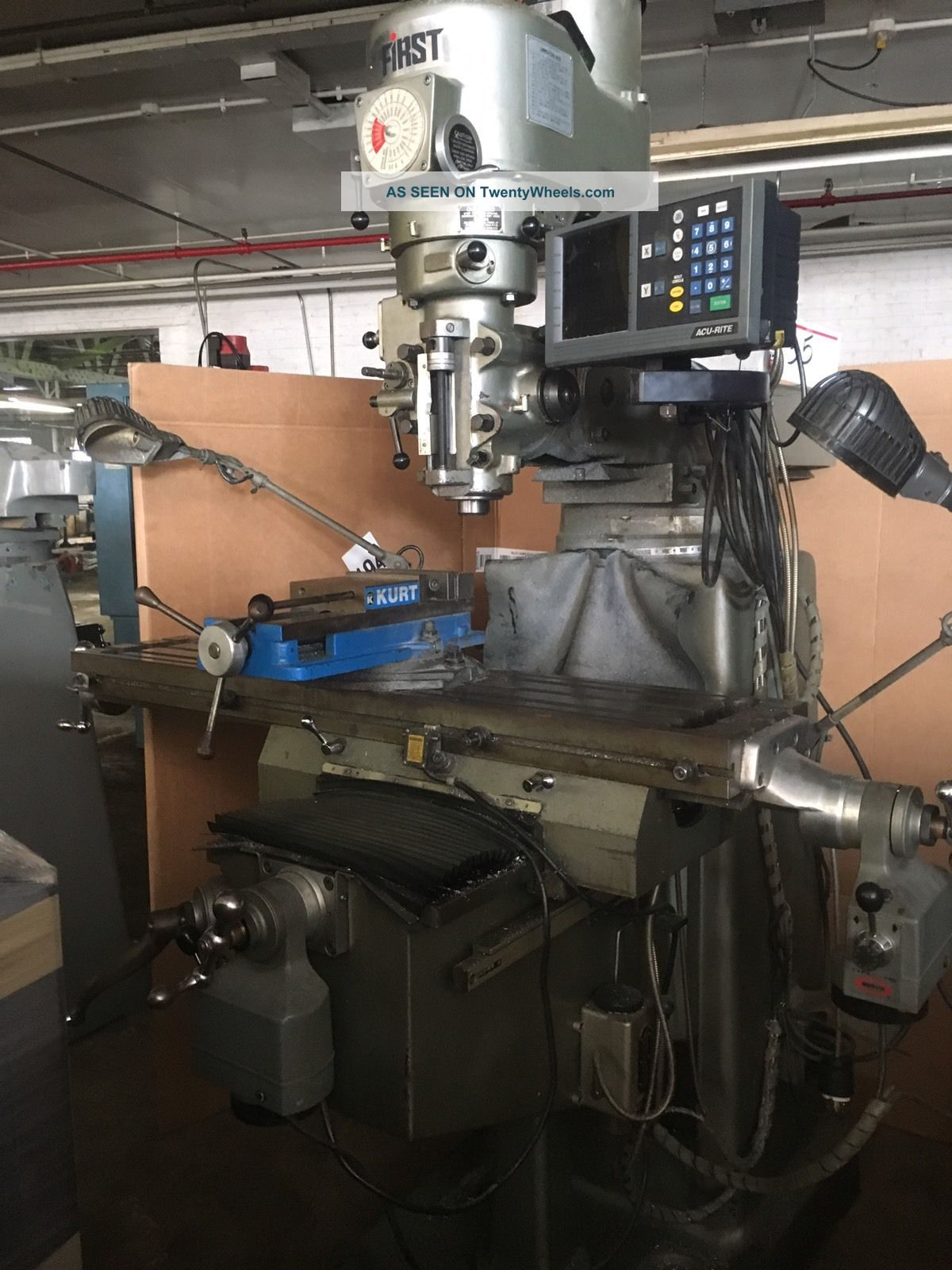 ' First ' Variable Speed Vertical Miilling Machine Milling Machines photo