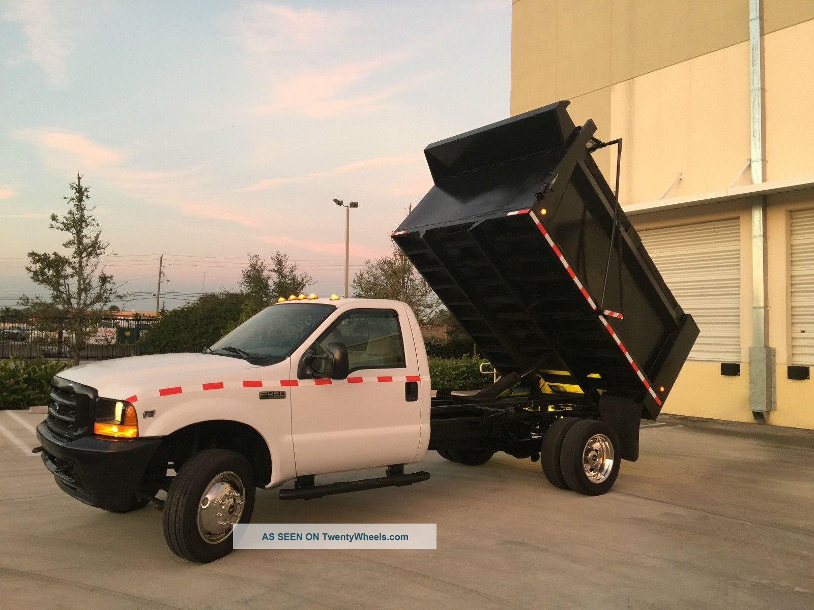 2001 Ford F450 Dump Trucks photo