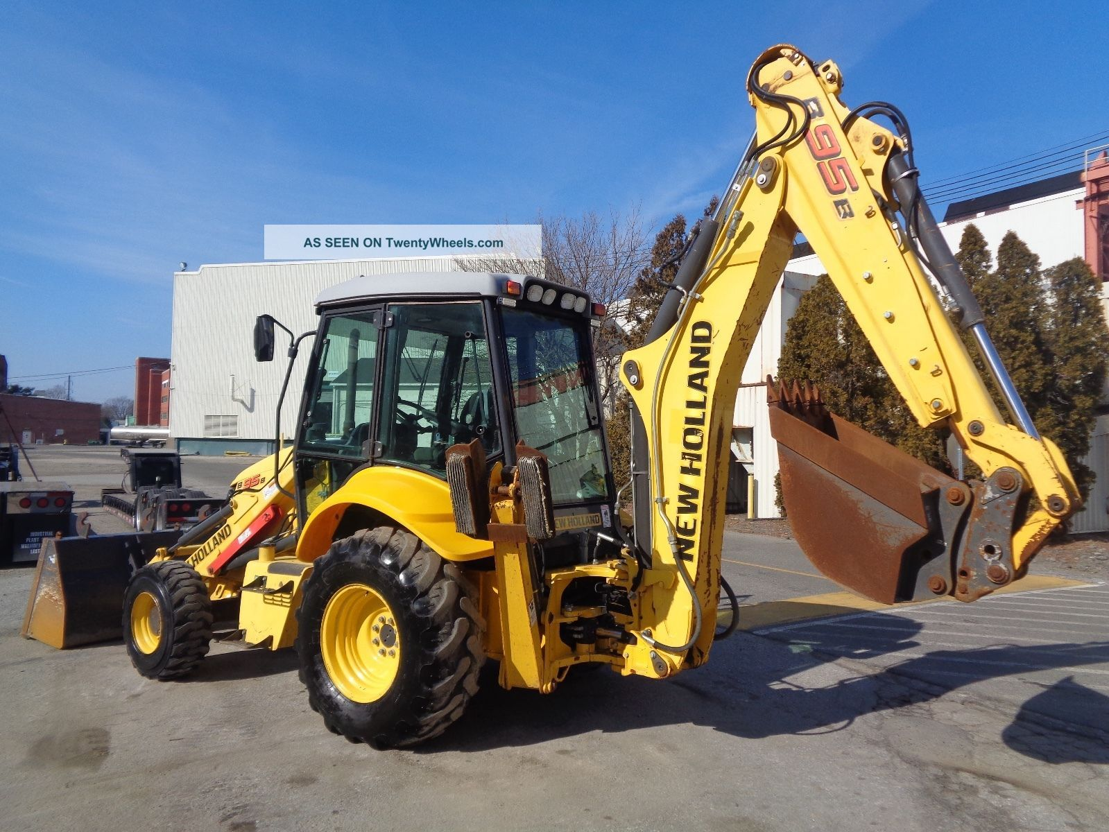 2010 Holland B95b Loader Backhoe - 4x4 - Enclosed Cab - Extendahoe Backhoe Loaders photo
