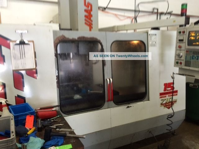 Haas Vf - 3 Cnc Vertical Machining Center Mill Ct40 4020 4th Axis Ready Rigid ' 96 Milling Machines photo