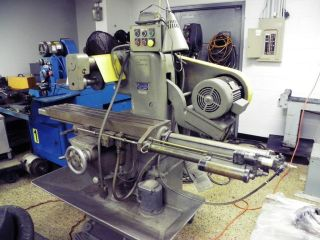 U.  S.  Burke D2 Horizontal Production Mill With Pneumatic Table Feed photo