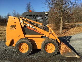 2008 Case 450 Series 3 Skid Steer Loader Skidloader 2 Speed Cheap photo