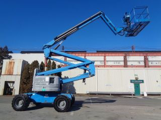 2006 Genie Z60/34 Articulating Boom Man Aerial Lift - 60ft Boom - 4x4 photo