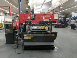Amada Model Rg - 5020ld 50 Ton X 6 ' Hydraulic Press Brake 50 Ton X 82