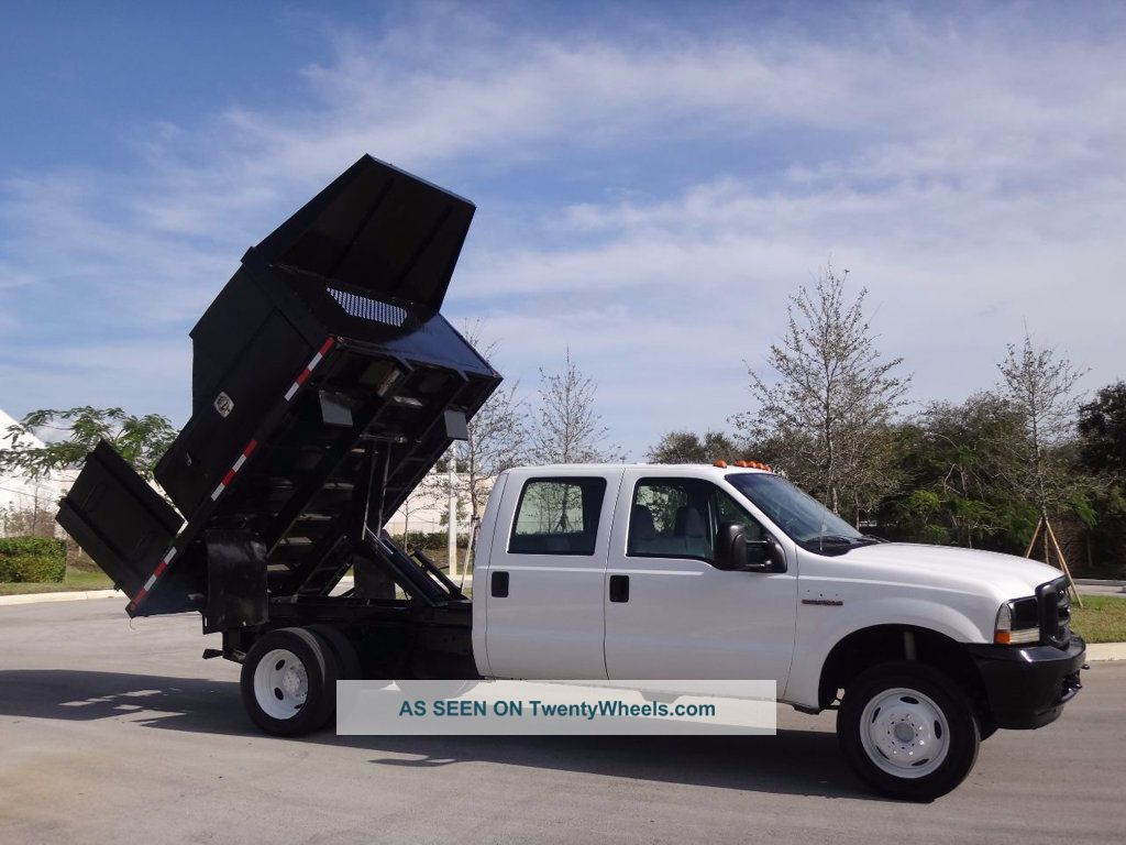 2004 Ford F450 Dump Flatbed Truck Dump Trucks photo