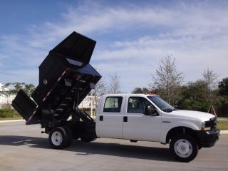 2004 Ford F450 Dump Flatbed Truck photo