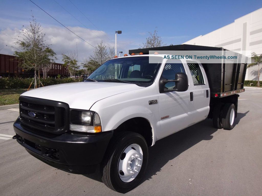 2017 Ford F450 Dump Truck >> 2004 Ford F450 Dump Flatbed Truck
