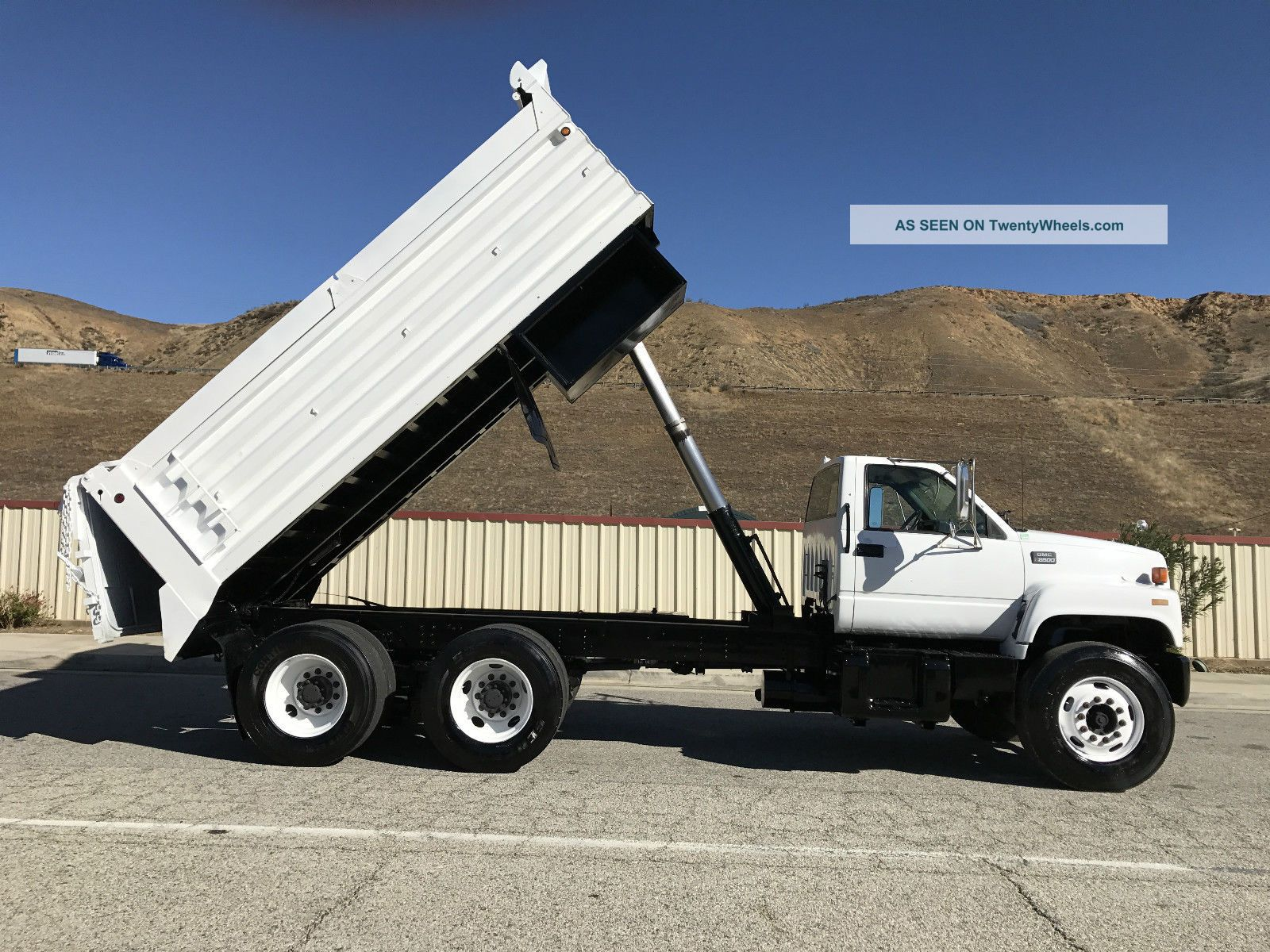 1999 Gmc C8500 Dump Trucks photo