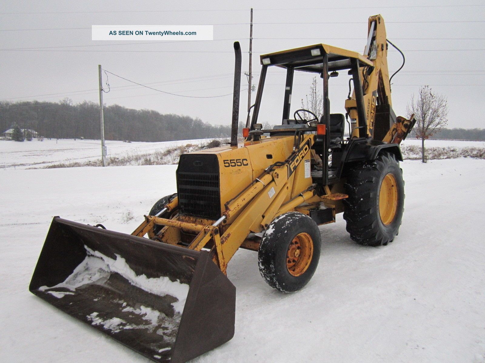 Ford 555c Backhoe 2wd Backhoe Loaders photo