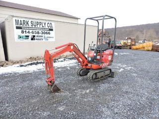 Ihi 7j Nana Rubber Track Micro Mini Excavator 12