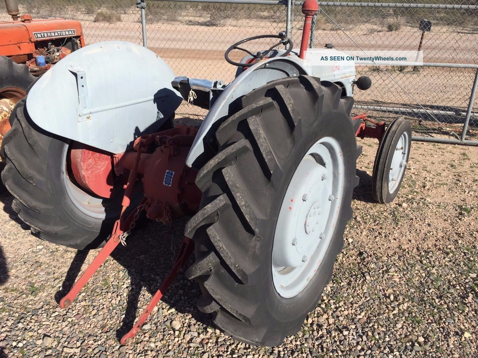 Two Point Tractor : Ford n tractor point hitch