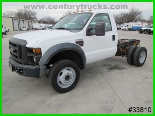 2008 Ford F550 Regular Cab 2wd Cab And Chassis photo