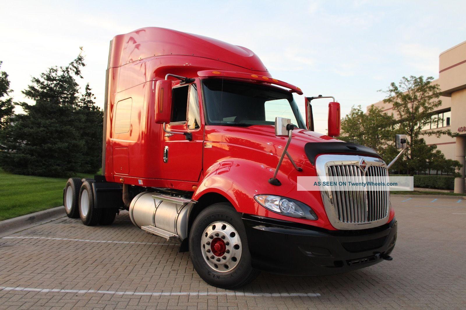 2011 International Proster Sleeper Semi Trucks photo