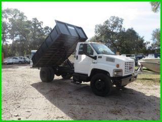 2006 Gmc C6500 Dump Truck photo