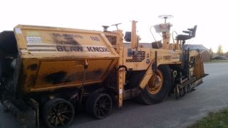 Blaw Knox Pf - 2181 Asphalt Concrete Paver Screed photo