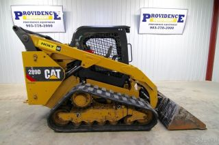 2014 Cat 289d Track Loader Skid Steer,  2 - Speed,  Tracks,  73 Hp, photo