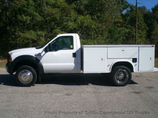 2006 Ford F450 Utility Heavy Spec Just 41k Mi One Owner Hard To Find 6.  8 Triton photo