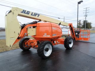 2008 Jlg 600aj 60 ' Boom Lift Manlift Man Lift Aerial Articulated Boomlift Jib photo