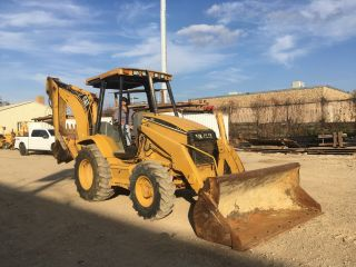 1999 Caterpillar Cat 416c 4wd Backhoe Loader; 4932 Hrs photo