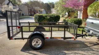Trailer Utility 5 Ft X 10 Ft With 24