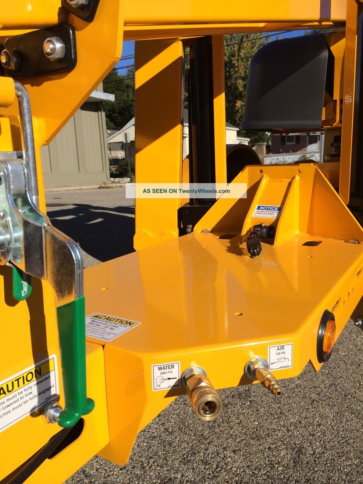 2017 Bil - Jax 3522a Towable Boom Lift Man 43' Height Unit, Made In Usa