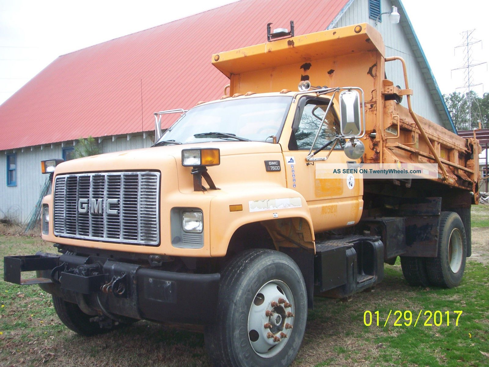 2001 Gmc 7500 Dump Trucks photo